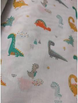 Cortina dinosaurios