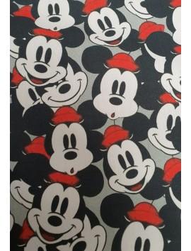 Algodón  Mickey Mouse sombrero rojo
