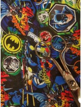 Tela de Algodón  estampadoBatman y Joker