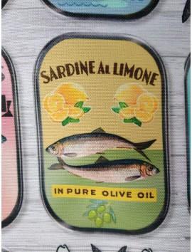 Estampado sardinas