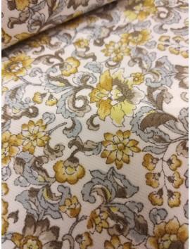 Viyela flores amarillas