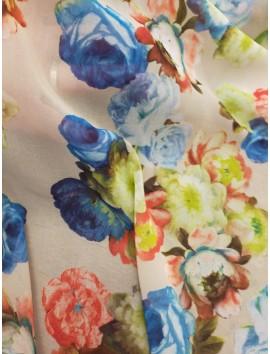 Tela de Gasa floral