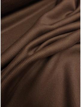 Punto de canalé marrón