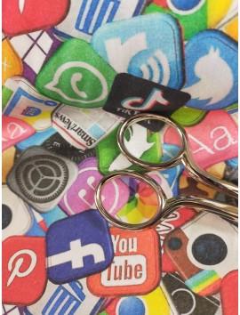 Tela de algodón redes sociales