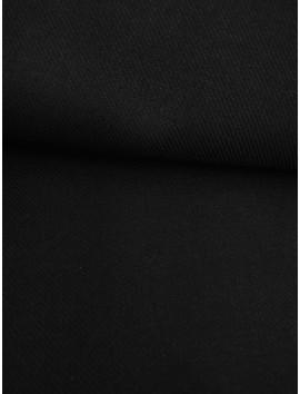 Tela de sastre, sarga de lana negro