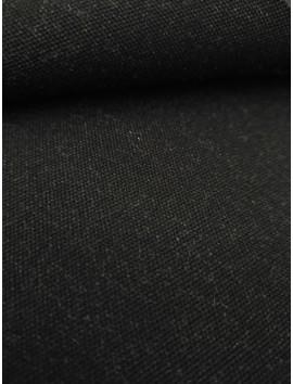 Tela sastre de lana negro