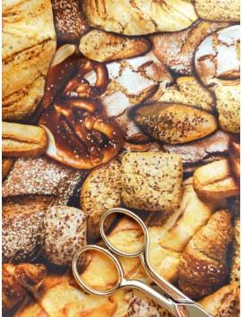 Tela de algodón panes