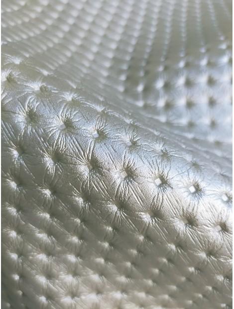 Polipiel plata efecto capitone pequeño
