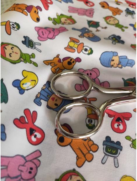 Tela de algodón con dibujos de Pocoyo