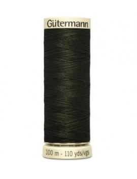 Hilos Gutermann 304 verde oscuro