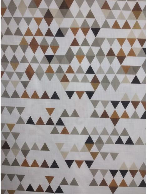 Cortina triángulos